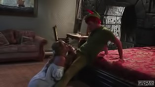 Peter Pan porn spoof with hot sex