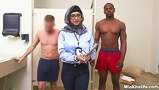 Refugee's interracial cock challenge