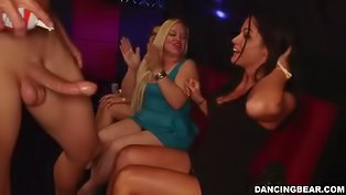 Swinging sluts blowing strippers