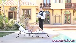 Crazy hot fucking session outdoors