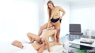 Banging the horny babysitter