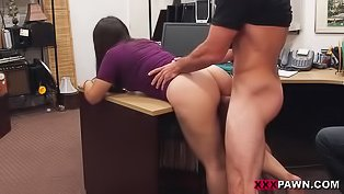Big booty babe gets fuck-punished
